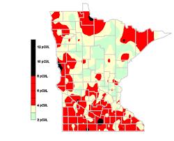 Radon Zone Map Minnesota Radon Project