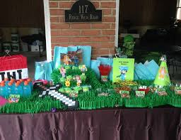 minecraft party minecraft party ideas for a girl birthday catch my party