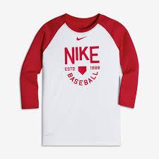 boys sleeve shirts nike