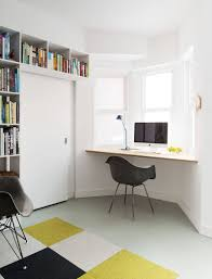 Office Wall Decorating Ideas For Work by 16 Wall Desk Ideas That Are Great For Small Spaces Contemporist