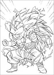 dbz coloring pages 60096