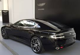 obsidian black color new aston martin rapide s model year 2016 aston martin brussels