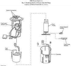 2000 nissan sentra fuel pump engine performance problem 2000