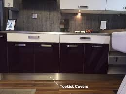 Stainless Cabinets Kitchen Toe Kick Covers