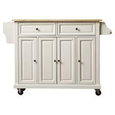 kitchen cart island august grove comte kitchen cart island with wood top