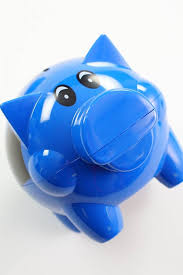 personalised piggy bank printed piggy banks with football motif