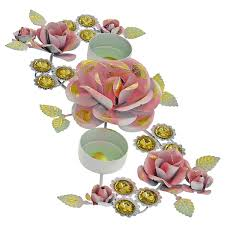 buy handmade colurful diyas diwali candle light holders rangoli