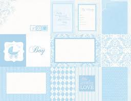 baby shower paper lullaby collection 12 x 12 sided paper baby shower