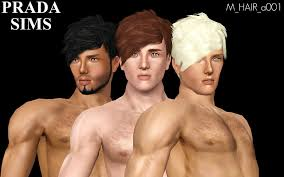 sims 3 men custom content male hair custom content caboodle page 6