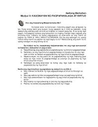 k to 12 grade 7 learning module in edukasyon sa pagpapakatao q3 q4