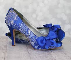 wedding shoes royal blue wedding shoes royal blue platform peep toe custom wedding