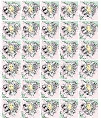 timbre poste mariage feuille de 30 timbres coeur balmain 100g boutique