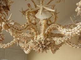 Seashell Light Fixtures S Chandelier Closeup My Next Challenge To Take On Will