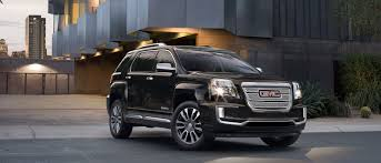 gmc terrain 2017 interior beauty and power collide in the new 2017 gmc terrain denali