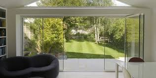 Glass Folding Patio Doors Image Result For Frameless Glass Folding Doors Glass Doors