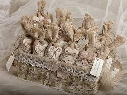 burlap wedding favors set of 50 burlap wedding favor bags and big basket rustic wedding