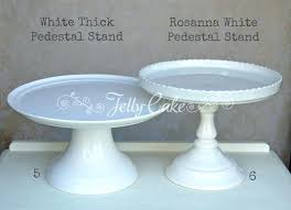 pedestal cake stand ceramic pedestal cake stand white cake stands labelled white