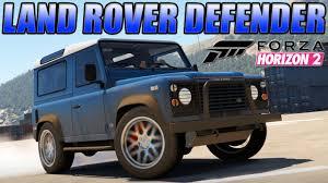 british land rover defender forza horizon 2 custom cars 5 land rover defender u0026 october dlc