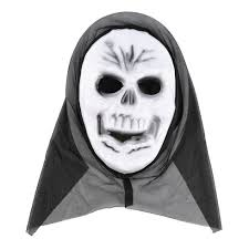 Halloween Costumes Scream Mask Scary Ghost Mask Scream Halloween Grimace Mask Fancy Party Props