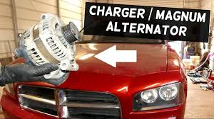 2008 dodge charger battery dodge charger alternator replacement removal dodge magnum