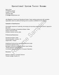 Sample Resume For Experienced Testing Professional by Testing Resume Sample For 2 Years Experience Resume For Your Job
