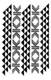 traditional hawaiian woven patterns for tattoos typically symbolize