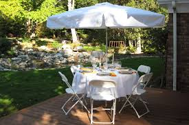 party tables for rent umbrellas table rentals for burlington bellingham seattle