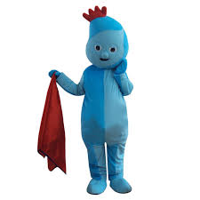 iggle piggle mascot costume night garden cosplay fancy dress