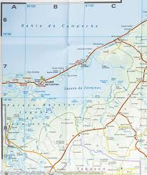 Map Of Cozumel Mexico by Map Of Yucatan Mexico You Can See A Map Of Many Places On The