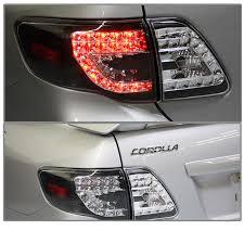 2010 toyota corolla tail light bulb 2009 2010 toyota corolla euro led tail lights led indicator