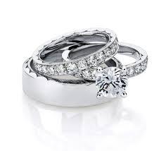 Trio Wedding Ring Sets by Wedding Rings Womens Wedding Rings Engagement Rings For Men