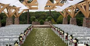 Garden Wedding Ceremony Ideas Garden Wedding Chairs Country Wedding Ceremony Ideas Outside
