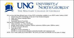 scholarship info junior senior application timeline topper rotc