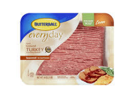 butterball seasoning fresh ground seasoned turkey 91 9 butterball