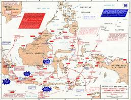 Map Of Holland Map Of Wwii The Dutch East Indies Dec 1941 April 1942