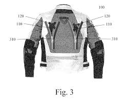 safest motorcycle jacket patent us20130047314 motorcycle jacket with passenger safety