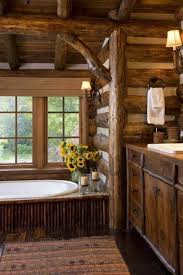 Log Cabin Bathroom Accessories by Best 25 Cozy Bathroom Ideas On Pinterest Cottage Style Toilets