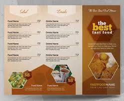 35 commendable food menu designs dzinepress