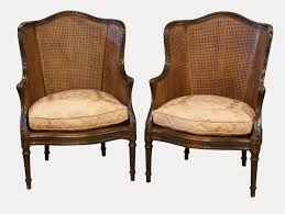 Armchair Uk Sale Pair Of French Carved Bergere Armchairs 262668 Sellingantiques