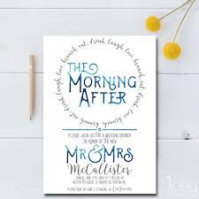morning after wedding brunch invitations post wedding brunch invitation printable the morning after
