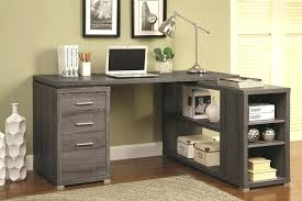 Small L Shaped Desk With Hutch Curved L Shaped Desk Workstation Small Black Large Corner With