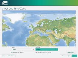 Time Zone Map World Clock by Portal 42 2 Screenshots Opensuse