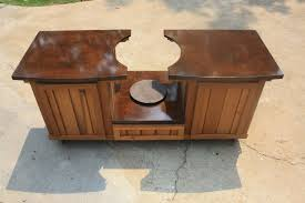 Green Egg Table by Hand Made Big Green Egg Table Cabinet By Deck Kitchen Custommade Com