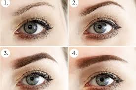 proper way to fill in eyebrows eyebrow diagrams that will explain everything to you