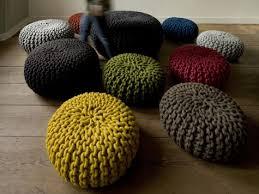 Knitted Ottoman Knitted Pouf Patterns Knit Pouf Ottoman Kreyol Essence