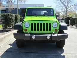 lime green jeep wrangler 2012 for sale 2012 gecko pearl jeep wrangler sport 4x4 suv lime green http