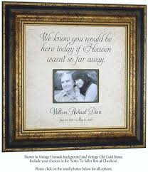 remembrance picture frame 18 best gifts images on 2017 wedding trends