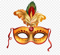 mask party carnival of venice mask party mask feather vector png