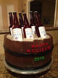giant drink giant barrel of beer cake with personalized labels cakecentral com