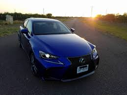 lexus is blue 2017 lexus is 200t f sport u2013 more than just a pretty face